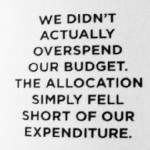 Overspend